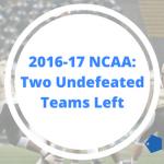 NCAA Undefeated 2016